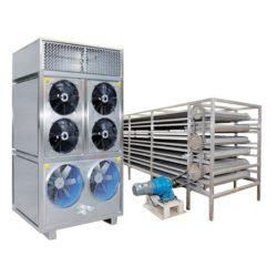 Máy sấy công nghiệp tích hợp bơm nhiệt và băng tải MGS-1200AL