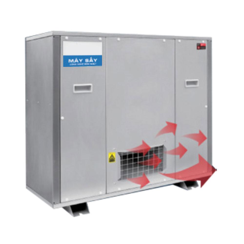 Máy sấy công nghiệp tích hợp bơm nhiệt 300A